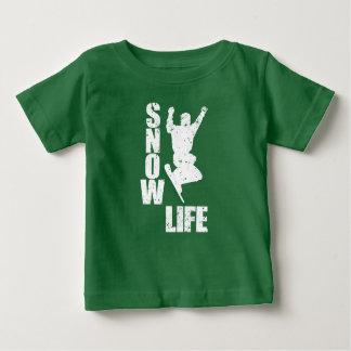 SCHNEE-LEBEN #3 (weiß) Baby T-shirt