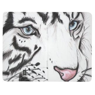 Schnee-Leopard (Kunst Kimberlys Turnbull) Taschennotizbuch