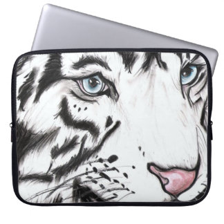 Schnee-Leopard Laptop Sleeve