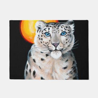 Schnee-Leopard-Mond Türmatte