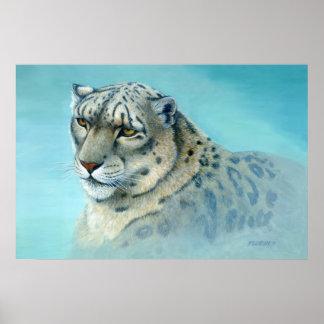 Schnee-Leopard - Poster