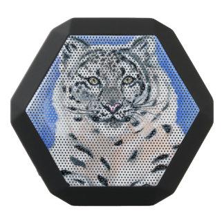 Schnee-Leopard Schwarze Bluetooth Lautsprecher