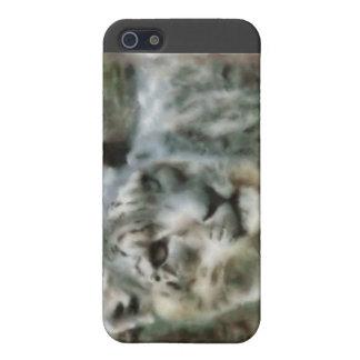 Schnee-Leopard-Speck-Kasten iPhone 5 Hülle