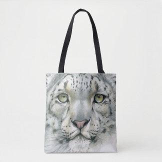 Schnee-Leopard Tasche