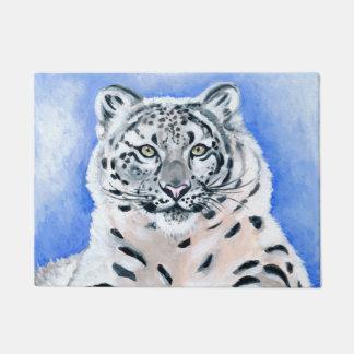 Schnee-Leopard Türmatte