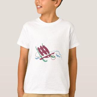 Schnee-Schlitten T-Shirt
