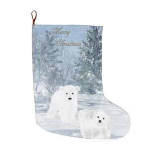 Schnee-Spaß - Eisbär CUB, Großer Weihnachtsstrumpf