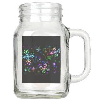 Schnee-Stern Einmachglas