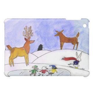 Schnee-Szene iPad Fall iPad Mini Hülle