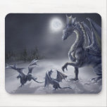 Schnee-Tag Mousepad