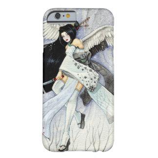 Schnee-u. Feder-Geisha iPhone 6 Fall Barely There iPhone 6 Hülle