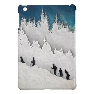 Schnee-Wanderung II Hülle Für iPad Mini