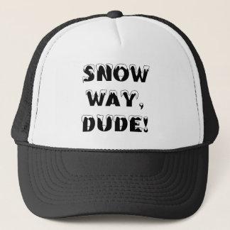 Schnee-Weise, Typ… 3 Truckerkappe