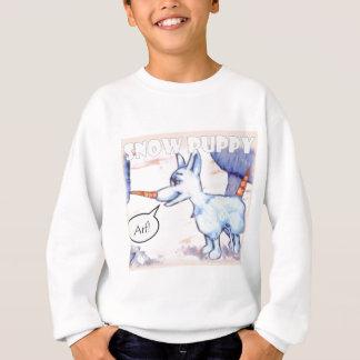 Schnee-Welpe Sweatshirt