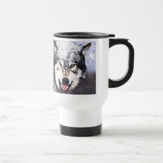 Schnee-Wolf Kaffee Tassen