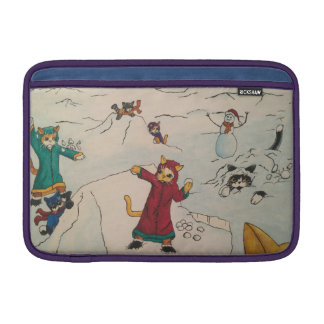 Schneeball-Kampf MacBook Air Sleeve