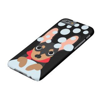 Schneeball-Zwergpinscher-Hund Barely There iPhone 6 Hülle