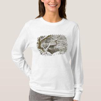 Schneebedeckter japanischer Ahorn T-Shirt