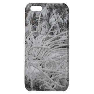 schneebedeckter Szene iphone Fall Hüllen Für iPhone 5C