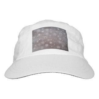 Schneebedeckter Taghintergrund des Winters - 3D Headsweats Kappe
