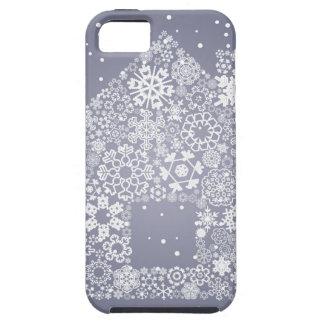 Schneeflocke das Haus iPhone 5 Schutzhülle