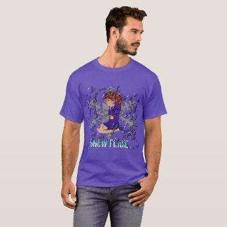 Schneeflocke-Einschmelzen T-Shirt