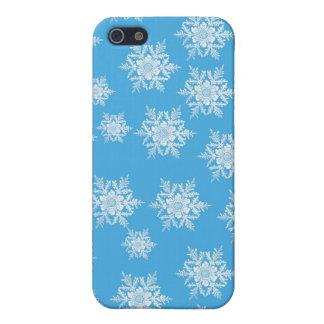 Schneeflocke-Entwurf iPhone 5 Hüllen