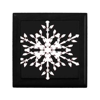 Schneeflocke Geschenkbox