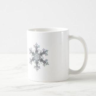 Schneeflocke Kaffeetasse