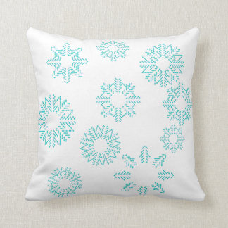 Schneeflocke-Kissen Kissen