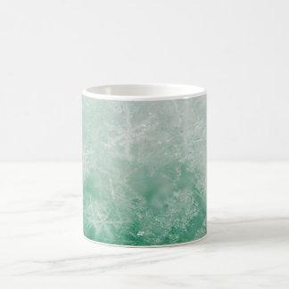 Schneeflocke-Kristalle Kaffeetasse