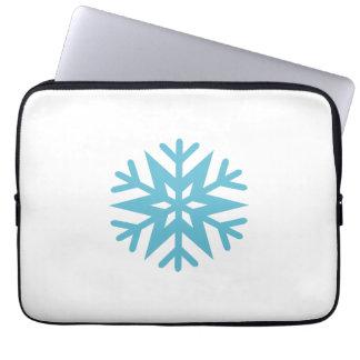 Schneeflocke Laptopschutzhülle