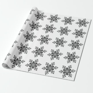 Schneeflocke-Packpapier Geschenkpapier