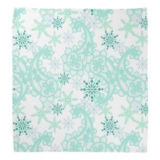 Schneeflocke Paisley Kopftuch