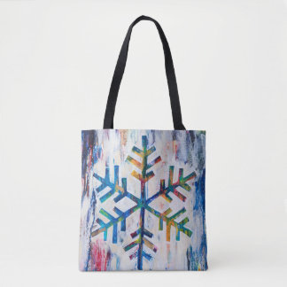 Schneeflocke-Reihen-Taschen-Tasche durch MaryLea Tasche