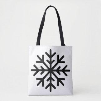 SCHNEEFLOCKE-Tasche Tasche