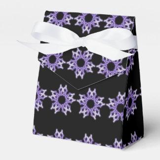 Schneeflockeband-Bevorzugungskasten Geschenkkarton