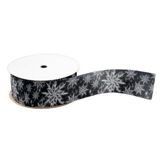 Schneeflockefederblick, Weihnachtsart Ripsband