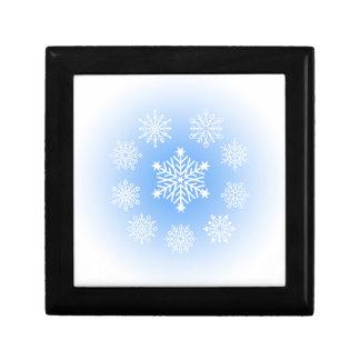 Schneeflocken Geschenkbox
