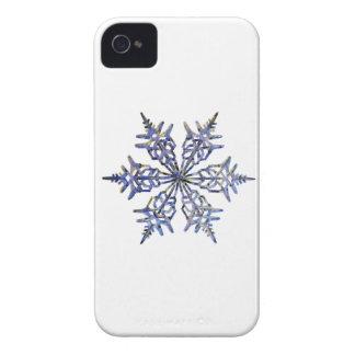 Schneeflocken, gestickter Blick iPhone 4 Hüllen
