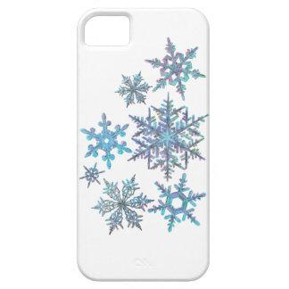 Schneeflocken, gestickter Blick Schutzhülle Fürs iPhone 5