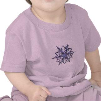Schneeflocken, gestickter Blick T Shirts