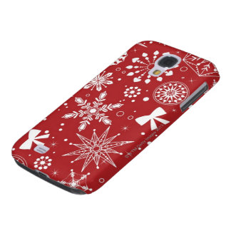 Schneeflocken im Herzen Galaxy S4 Hülle