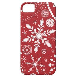 Schneeflocken im Strumpf iPhone 5 Case