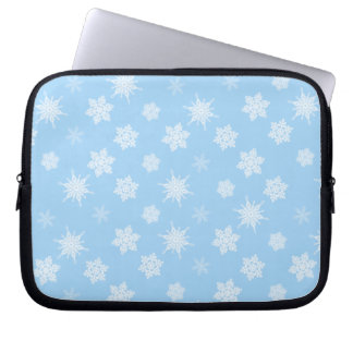 Schneeflocken Laptop Sleeve