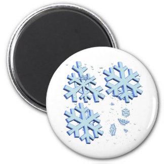 Schneeflocken Magnets