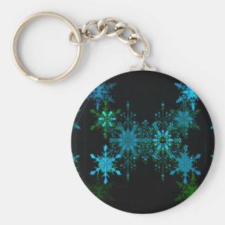 Schneeflocken Schlüsselanhänger