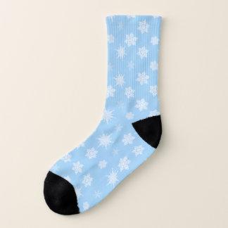 Schneeflocken Socken