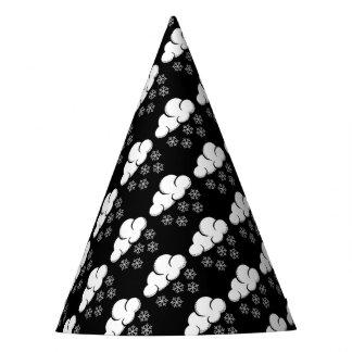 Schneeflockepapierhüte Partyhütchen