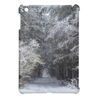 Schneelandschaft iPad Mini Hülle